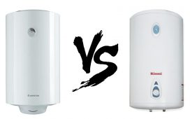 Water Heater Ariston vs Rinnai