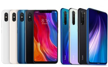 Xiaomi Mi 8 vs Redmi Note 8