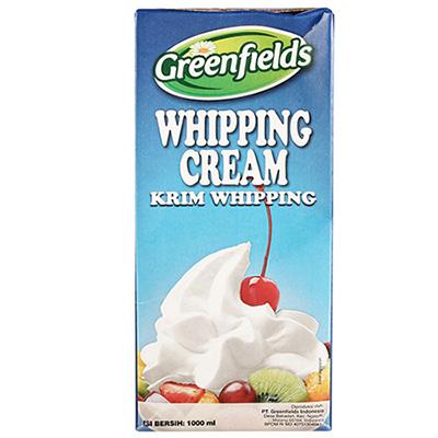 Whipped Cream Terbaik