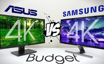 Monitor 4k Asus vs Samsung
