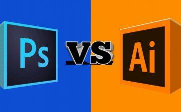 Adobe Photoshop vs Adobe Illustrator