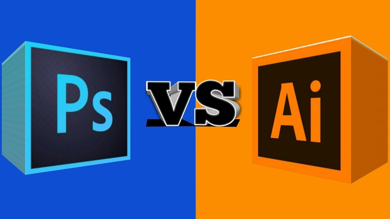 Adobe Photoshop vs Adobe Illustrator