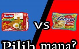 Indomie vs Mie Sedap