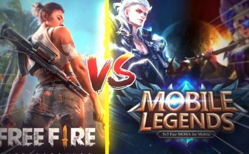 Mobile Legends vs Free Fire