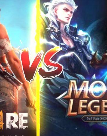 Mobile Legends vs Free Fire