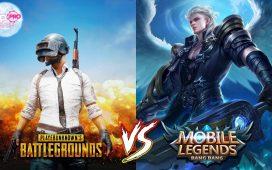Mobile Legends vs PUBG
