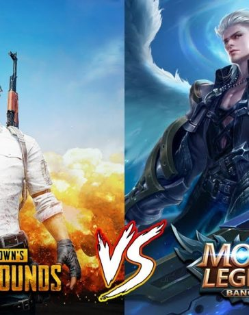 Mobile Legends vs PUBG