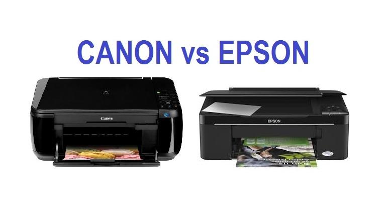 Printer Canon vs Printer Hp
