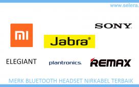 Merk Bluetooth Headset Nirkabel Terbaik