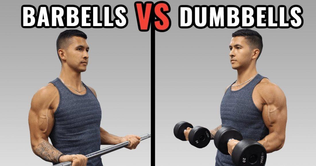 Dumbbell vs Barbell
