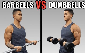 Dumbbell vs Barbell