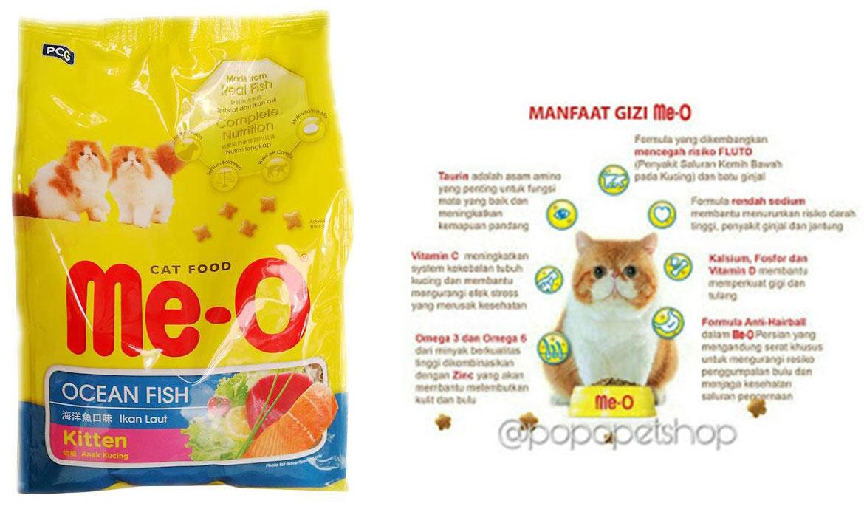 Makanan Kucing Whiskas vs Me-O